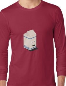 Cute kawaii milk carton Long Sleeve T-Shirt