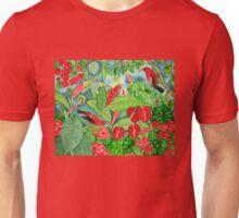 Red Iiwi Garden Unisex T-Shirt