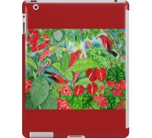 Red Iiwi Garden iPad Case/Skin