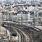 Trains and Tracks by brijo