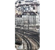 Trains and Tracks iPhone Case/Skin