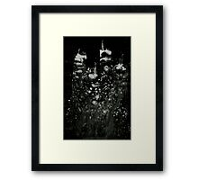0119 - Brush and Ink - City of the Missed Framed Print