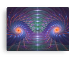 Mesmerizing Wind tunnel  Canvas Print