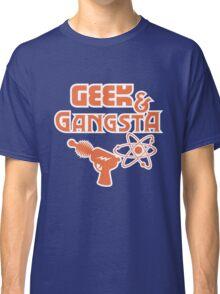 Geek & Gangsta - Nerdy Retro Science Fiction Humor Classic T-Shirt