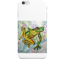 Joy - Frog 1 iPhone Case/Skin