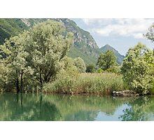 lake scape Photographic Print