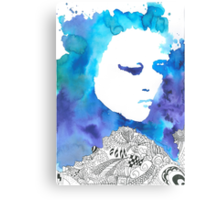 Dreaming Blue  Canvas Print