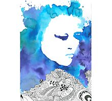 Dreaming Blue  Photographic Print