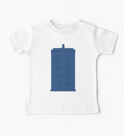Simplistic Tardis Baby Tee