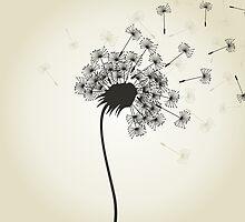 Flower a dandelion by Aleksander1