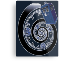 The Twelfth Doctor - time spiral Metal Print