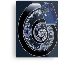 The Twelfth Doctor - time spiral Metal Print