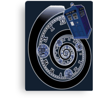 The Twelfth Doctor - time spiral Canvas Print
