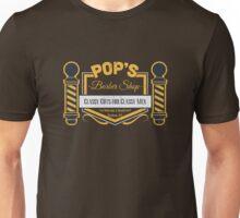 Nerdy Tee - Pop's barber Shop Unisex T-Shirt