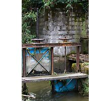closed on the river Photographic Print