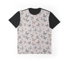 butterfly kisses Tan Graphic T-Shirt