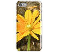 Happy Yellow Flower iPhone Case/Skin
