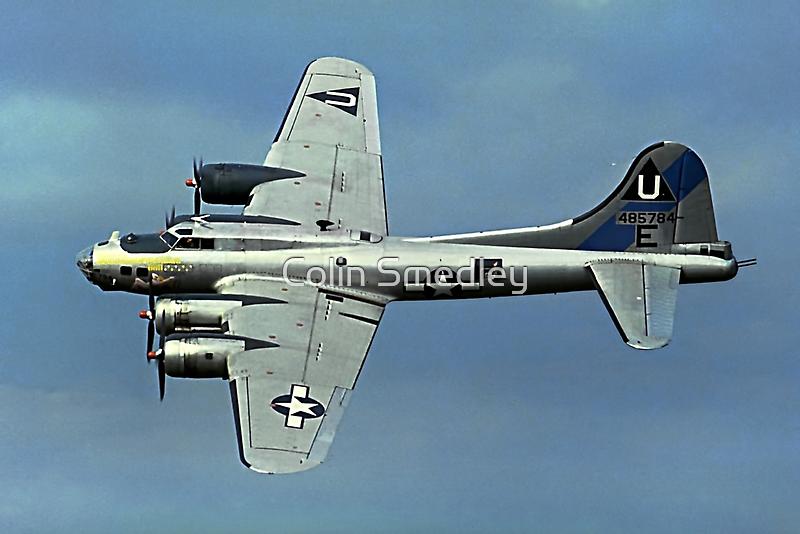 B-17G Fortress II N17TE G-BEDF Sally B by Colin Smedley