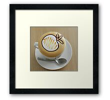 Coffee     Singapore style Framed Print