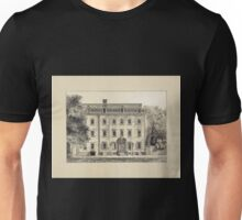 605 The Walton house Pearl Street Large tree on walk to left to left garden wall trees and shrubs to right Unisex T-Shirt