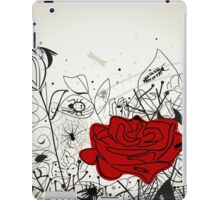Insect a flower iPad Case/Skin