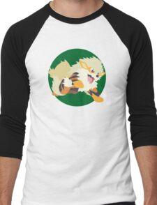 Arcanine Mk2 Men's Baseball ¾ T-Shirt