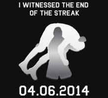 The END Of The Streak by TrollWWE