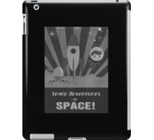 Space adventures, In Space!  iPad Case/Skin