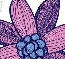 a phi flower Sticker