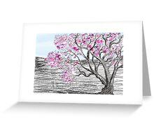 Violet Bloom Greeting Card
