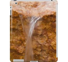 fountain gushing iPad Case/Skin