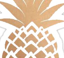 Golden Pineapple Sticker