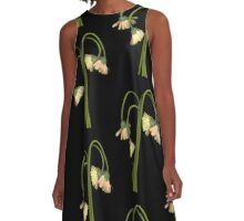 Daisy Umbrella A-Line Dress