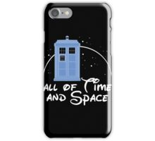 Doctor Who - All Of Time And Space iPhone Case/Skin