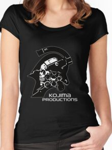 Kojima Productions Logo Women's Fitted Scoop T-Shirt