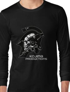 Kojima Productions Logo Long Sleeve T-Shirt