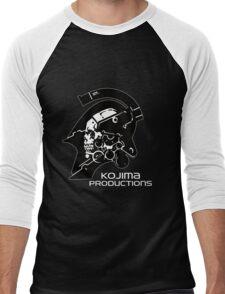 Kojima Productions Logo Men's Baseball ¾ T-Shirt