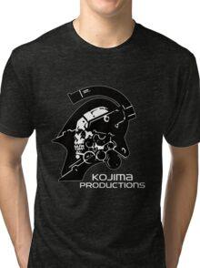 Kojima Productions Logo Tri-blend T-Shirt