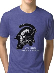Kojima Productions Logo Tri-blend T-Shirt
