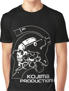 Kojima Productions Logo Graphic T-Shirt