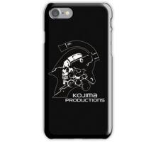 Kojima Productions Logo iPhone Case/Skin