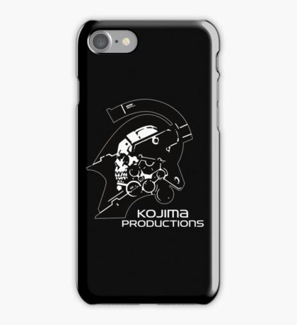 Kojima Productions Logo iPhone Case/Skin