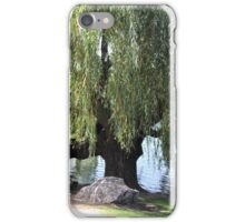 Old Weeping Willow Tree iPhone Case/Skin