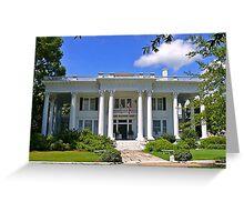 Shorter Mansion Greeting Card