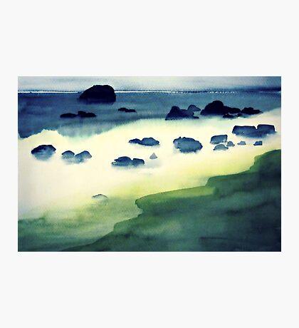 emerald coast Photographic Print