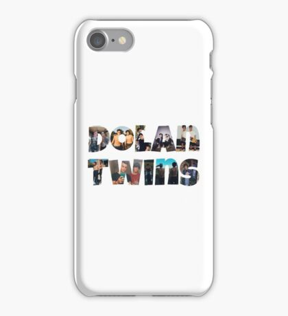 Dolan twins- picture filled iPhone Case/Skin