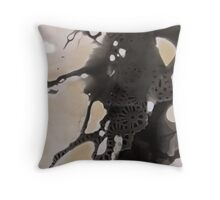 Tea & Lace Throw Pillow