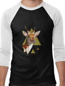 Deer Hunt Men's Baseball ¾ T-Shirt