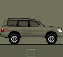 Toyota Land Cruiser Sticker