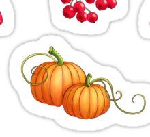 Autumn Harvest - Purple  Sticker